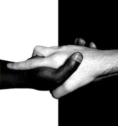 stop discriminatin'. i like this one because no matter what race or religion we are, we're all people.
