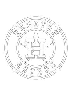 houston astros logo coloring pagejpg 435580