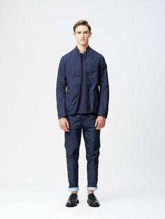 #11 Jacket:¥42,120 Knit:¥17,280 Pants:22,680