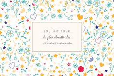 Kit à thé à imprimer Kit, Card Making, Arts And Crafts, Frame, How To Make, Journal, Couture, Birthday, Printables