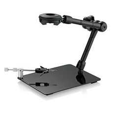 Supereyes Z004ZB Magic Jewelry Universal Adjustable Stand for Handheld Digital Microscope Magnifer Endoscope Otoscope Loupe By rotating the gear, the stand could go up, down, right and left.Exclusively designed for all Supereyes microscope products.This stand provides more precise adjustment than tripod and stand model Z001.  http://microscopes.mobi/product/supereyes-z004zb-magic-jewelry-universal-adjustable-stand-for-handheld-digital-microscope-magnifer-endoscope-otoscope-loupe/