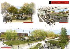 Primeiro Lugar  no Concurso para o Plano Diretor do Campus da Universidade Católica de Córdoba