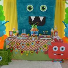 {Little Monster Birthday Bash} - Monsters