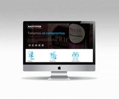 Hoy celebramos el estreno de nuestra nueva web!!! http://www.madtypper.com/ #disenoweb #Madrid #graphicdesign