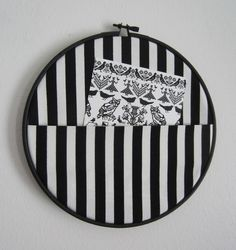 DIY: fabric wall pocket organizer // Tee-se-itse-naisen sisustusblogi