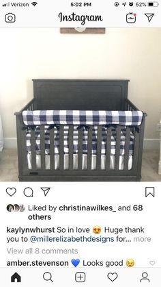 Grand 1, Cribs, Bed, Furniture, Instagram, Home Decor, Cots, Decoration Home, Bassinet