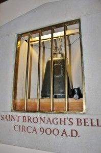 For hundreds of years following the convents demise, a bell could be heard ringing on stormy nights.Legend had it that it was a warning to seafarers on Carlingford Lough. The source could not be found, it was thought the sound came from the old graveyard. Then in 1839, a storm felled an old tree in the Kilbroney Graveyard, and within its trunk, a bell was found. Whether it was forgotten about as the convent disappeared, or was placed here to save it during raids, well never know.