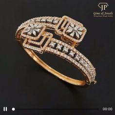 Gold Ring Designs, Gold Bangles Design, Jewellery Designs, Bracelet Designs, Diamond Bangle, Diamond Wedding Rings, Diamond Jewelry, Diamond Bracelets, Bangle Bracelets
