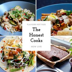 The Honest Cooks is now LIVE! Check us out for wholesome & tasty recipe #food #recipes #delicious