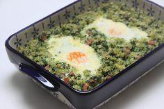 Ovenpasta met Spinazie en ei recept - Foodblog Foodinista Tilapia, Mozzarella, Smoothie Recipes, Pasta Recipes, Good Food, Food Porn, Food And Drink, Low Carb, Tasty