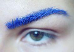 // Yea... I really really LOVE dark blue and bushy eyebrows... Awesome photo!