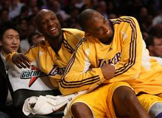 Kobe Bryant and Lamar Odom Photo - Chicago Bulls v Los Angeles Lakers