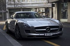 Gorgeous Mercedes SLS AMG