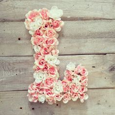 Hey, I found this really awesome Etsy listing at https://www.etsy.com/il-en/listing/251114664/pink-and-white-floral-monogram-letter