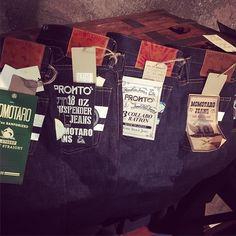 Momotaro jeans limited edition in Thailand. #momotarojeans #denim #jeans #rawdenim