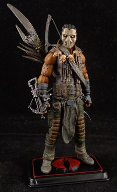 Welcome to my custom figure gallery! These one of a kind works have been created to promote my love and respect for action figures, the characters they represent, and the dedicated fans worldwide who collect figures of all genres! Gi Joe, Star Wars Action Figures, Custom Action Figures, Nightmare On Elm Street, Indiana Jones, Character Art, Concept Art, Marvel, Statues