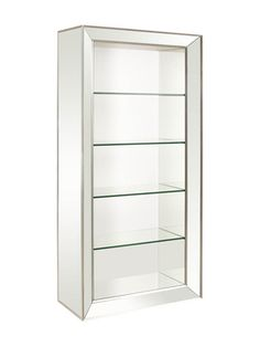 Minetta Bookcase from Classic Furniture with a Twist on Gilt