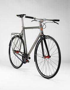 Firefly Bicycles Ti Commuter Bike
