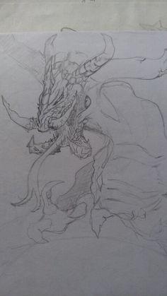 Un dragón de esos legendarios