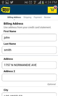 21 first class examples of effective web form design | Econsultancy