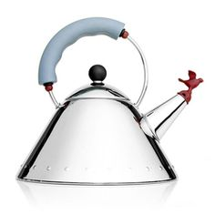 My Alessi kettle with it's adorable bird whistle.