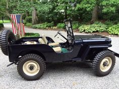 Willys CJ-2A - Photo submitted by Scott Barringer.
