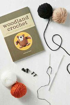 DIY Woodland Crochet Set