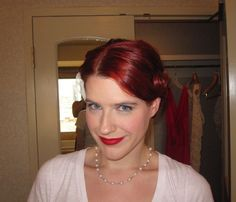 Make up inspiration photos for redheads? :  wedding makeup redhead Weddingmoon Las Vegas 2 177