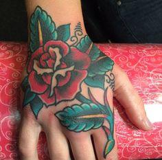 Rose Tattoo by Justin Lamoreux