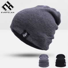 7a56327acfba4 Hot Sales!Unisex Brand Winter Hat For Men Skullies Beanies Women Men Cap  Fashion Warm Knit Beanies