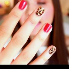 Cool leopard print nail Leopard Print Nails, Cheetah, Beauty Tips, Beauty Hacks, Amazing Nails, Pretty Little, Fun Nails, Nail Ideas, Hair And Nails