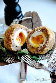 CHEZ SILVIA: Huevos a la escocesa