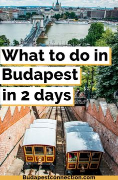 Two days in Budapest can be enough to have a glimpse at all the good things this city has to offer IF you know how to spend your short time properly. This post will help you make the most out of your short stay. With free PDF. Places To Travel, Travel Destinations, Places To Visit, Travel Europe, Prague Travel, European Travel, Visit Budapest, Budapest Hungary, Budapest Travel Guide