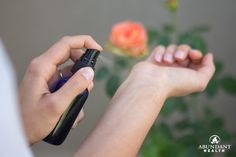 It's so easy to make your own perfume if you have essential oils.  Here's how.