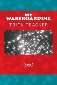 """(6"""" x 9"""" w/Glossy Cover Finish)  My Wakeboarding: Trick Tracker 360 (Cover Colors 360) (Vo... https://www.amazon.com/dp/1535171057/ref=cm_sw_r_pi_dp_yV6GxbQF5W2QB"""