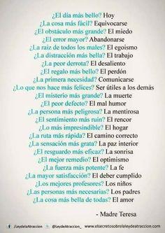 #MadreTeresa #poema #citas #Frases #reflexión #quotes