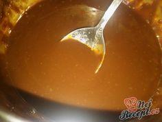Nejlepší čokoládová poleva | NejRecept.cz Christmas Candy, Rum, Food And Drink, Pudding, Cake, Ethnic Recipes, Sweet, Desserts, Recipes