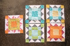 4x5 blocks for Hive 12 - Q1 by Don't Call Me Betsy, via Flickr