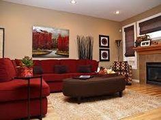 Bildergebnis für rotes wohnzimmer