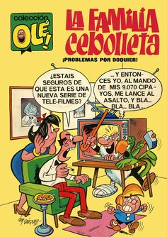Kiosko del Tiempo (@kioskodeltiempo) | Twitter Comics Und Cartoons, Funny Cartoons, Comics Vintage, Vintage Posters, Vintage Toys, Caricature, Comic Book Artists, Comic Books, Kool Kids