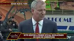 PRIMER OFICIAL DE NUEVA YORK INVOLUCRADO EN CORRUPCIÓN