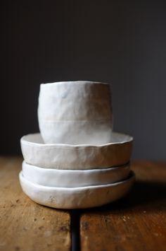 Ceramic set by Katharina Trudzinski