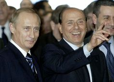 2-Current political inspirations Vladimir Putin and Silvio Berlusconi