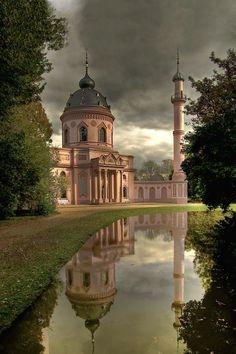 Schwetzinger Moschee, Schwetzinger Mosque, Mannheim , Germany  ---------  Photo by Zeki Öztürk