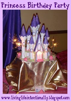 Disney Princess Birthday Party - So many really fun, clever ideas. Every little girl would love this.