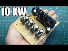 Metal Bender, Power Supply Circuit, Electronic Schematics, Test Video, Diy Tech, Smart Home Automation, Circuit Diagram, Alternative Energy, Electronics Projects
