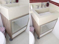 Armário do banheiro suíte