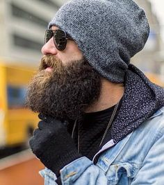Wintering a Beard. Long Beard Styles, Hair And Beard Styles, Great Beards, Awesome Beards, Full Beard, Epic Beard, Hipsters, Moustaches, Barba Grande