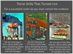 Drills before attacks. A drill occured before the Sandy Hook Shooting as well as  Boston Marathon Bombing. Coincidence?