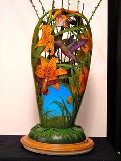 Gourd Art by John Pointek
